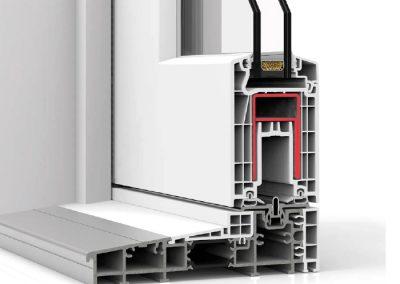 Ventana PVC Corredera S170E
