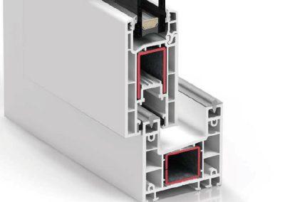 Ventana PVC Corredera S170C
