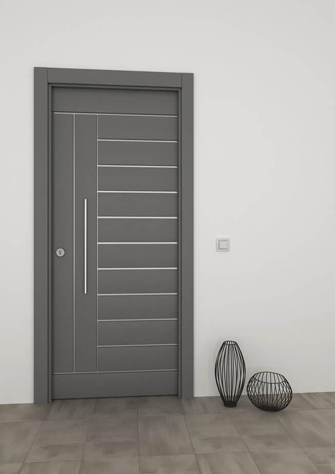 Puertas alumino reus