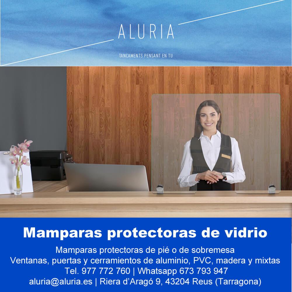 MAMPARAS PROTECTORAS DE VIDRIO