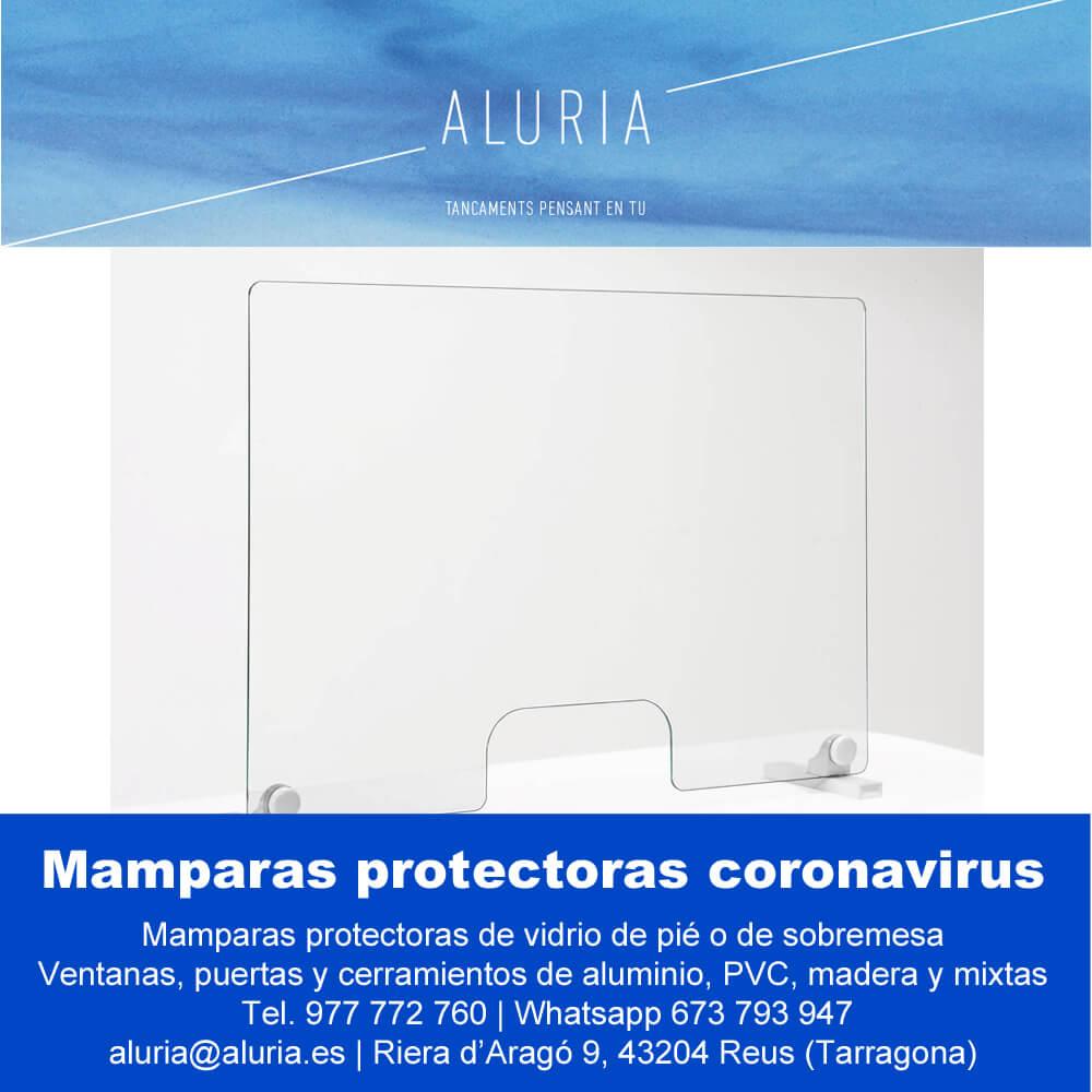 Mamparas protectoras coronavirus